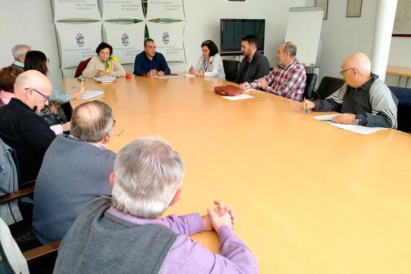 El mandatario local tendió la mano al diálogo permanente y mostró su disposición a una colaboración directa