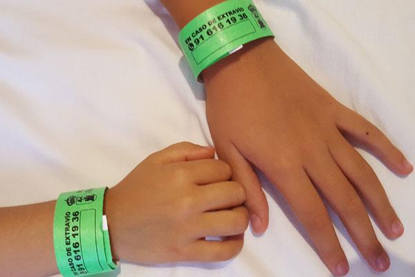 Los menores contarán con pulseras anti extravío durante las Fiestas Patronales