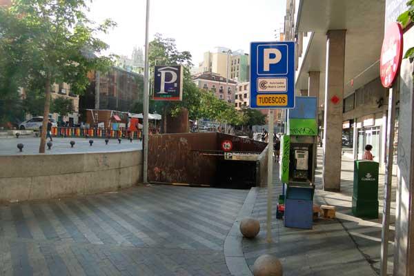 Se detectan fallos para controlar las matrículas en el 30% de los parkings