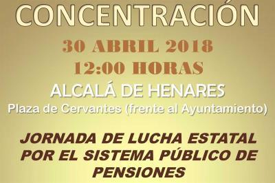 Lee toda la noticia 'Los pensionistas de Alcalá salen a la calle'