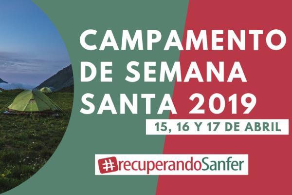 Los peques de Sanfer se van de campamento el 15 de abril