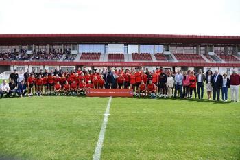 Con este entrenamiento, el club ha dado por inaugurado oficialmente el Centro Deportivo Wanda de la ciudad