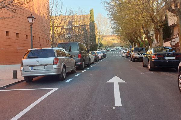 La calle Magnolia pasa a tener un solo sentido de circulación