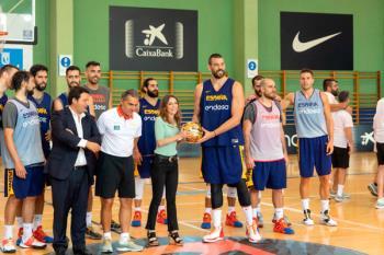 CentroCentro acoge la copa de Campeones del Mundo de la selección masculina de baloncesto y la de las Campeonas del Eurobasket Femenino
