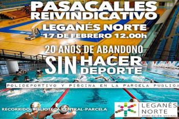 El 17 de febrero tendrán lugar una marcha contra el convenio por el cual el Club Deportivo Leganés ocupará todo el terreno de las instalaciones deportivas de Butarque