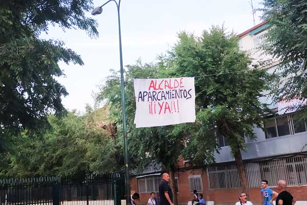 La Agrupación Vecinal de Nuestra Señora de Belén se manifestará el 31 de mayo a las 19:30h en la plaza del colegio Santos Niños