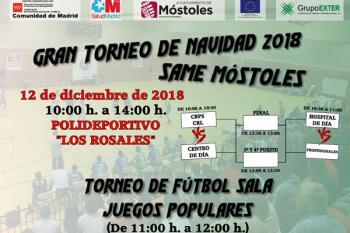 El Pabellón Municipal de Móstoles acogerá este 12 de diciembre el Torneo de Navidad