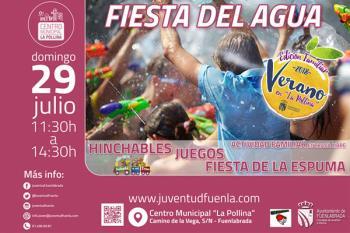 El domingo 29 de julio agua y mucha diversión nos espera en La Pollina