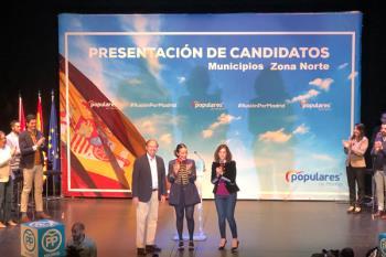 Presentación de candidatos PP norte de Madrid
