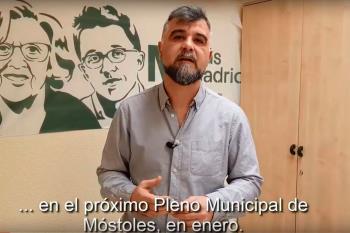 Su portavoz Gabriel Ortega alude a las mociones que serán presentadas por PP y Cs sobre pactos independentistas y reprobaciones a EH Bildu