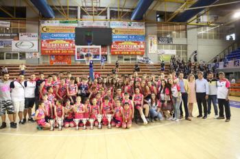 El Fernando Martín acogió la entrega de trofeos del deporte escolar municipal y de las ligas municipales