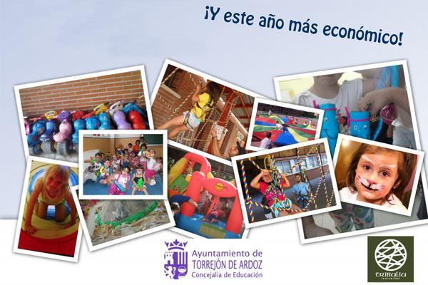 Más de 3.500 niños disfrutan de las actividades de verano en Torrejón