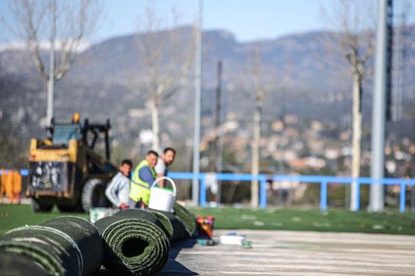 Más de 460.000 euros para remodelar los campos deportivos de Las Rozas