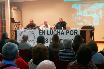 El objetivo de la concentración fue la defensa del sistema público de pensiones