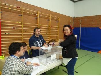 La candidata a la alcaldía de Móstoles por Podemos valora los resultados electorales