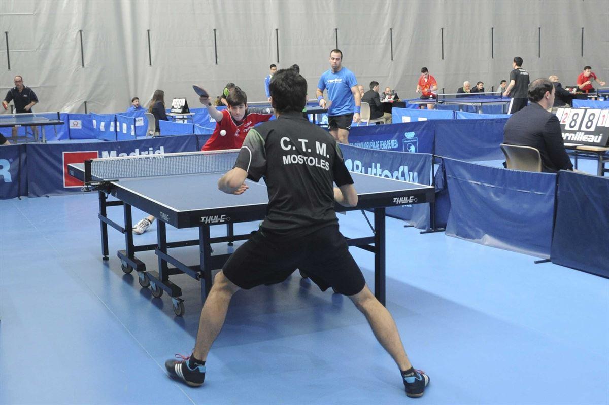 tenis de mesa madrid