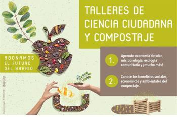 La ciudad cuenta con varios puntos donde los ciudadanos pueden convertir sus residuos orgánicos domésticos en abono fresco