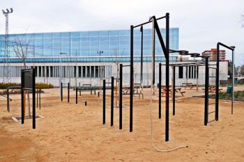 El Polideportivo Municipal Andrés Torrejón estrena este nuevo espacio de entrenamiento