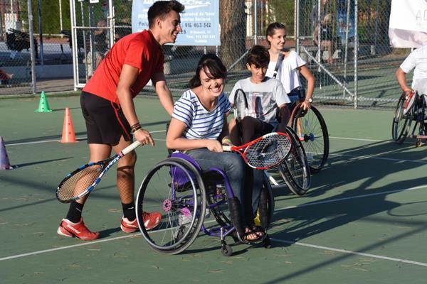 Vuelve el VIII Open Nacional Ciudad de Móstoles de Tenis en silla de ruedas