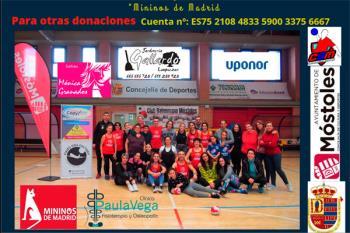 La Concejalía de Deportes organizó una masterclass solidaria en el Villafontana