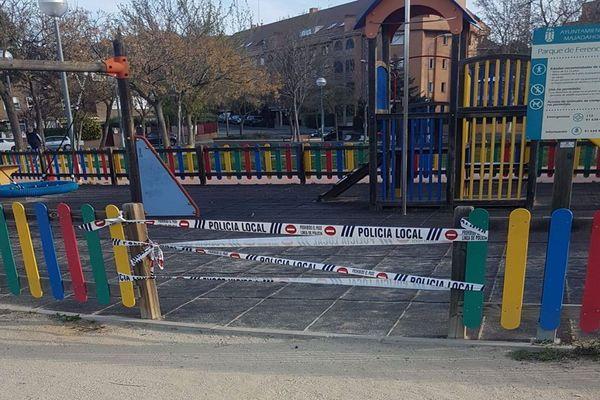 Parques infantiles y el Monte del Pilar también estarán cerrados