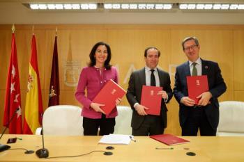 El ayuntamiento ha suscrito esta mañana un acuerdo con Iberdrola, UFD y Red Eléctrica de España