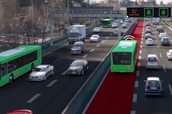 Madrid estrena el segundo Bus-VAO de España en la A-2