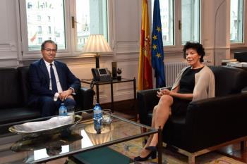 Ossorio ha trasladado varias propuestas educativas a Celaá, como la realización de evaluaciones externas en los centros docentes