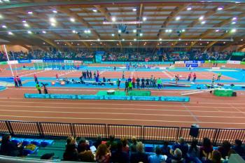 La pista de Gallur se ha convertido en un referente dentro de las pruebas del World Indoor Tour