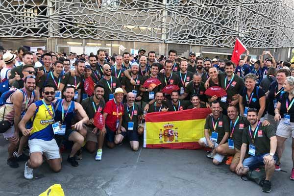 Nuestro equipo de Deporte y Diversidad Comunidad de Madrid ha participado, junto a otros 10.000 deportistas, en estas Olimpiadas LGBTI