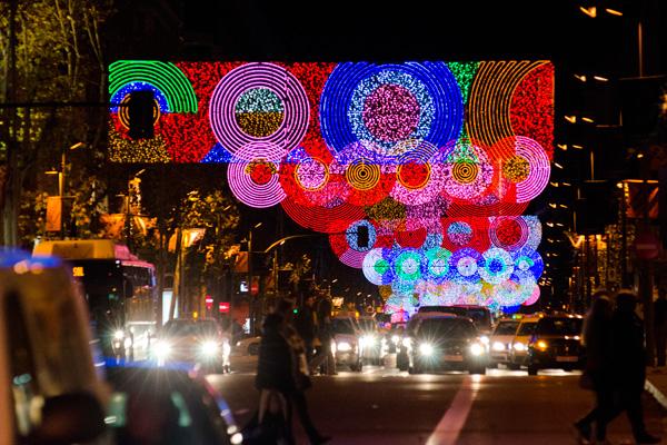 La noche del 23 de noviembre, Madrid encenderá sus luces hasta el 6 de enero del 2019