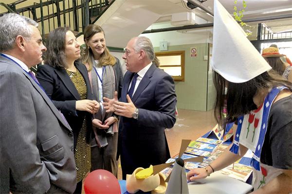 Es la IV Feria Turística y Gastronómica que celebra el IES María de Zayas y  Sotomayor para mostrar el trabajo de los alumnos de hostelería