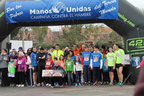 VIII Carrera Solidaria de Manos Unidad en el Parque del Ocio en Torrejón de Ardoz