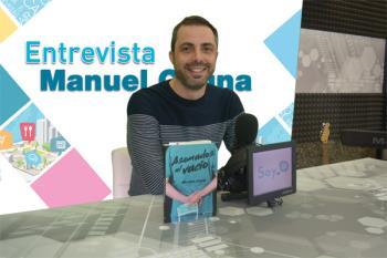El autor fuenlabreño nos presenta su primera novela,