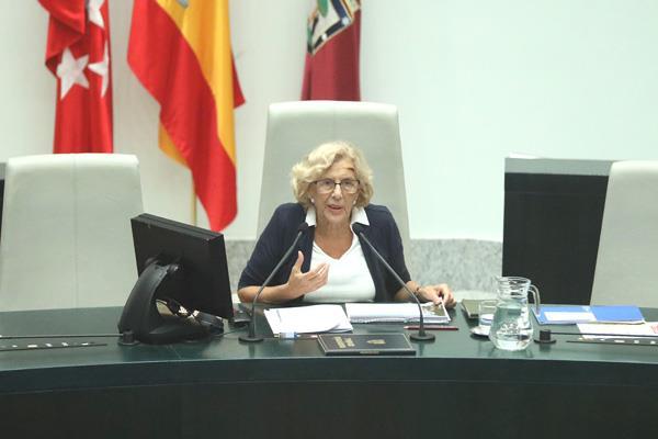 Madrid celebra el último debate sobre el estado de la Ciudad, Manuela Carmena hace balance de su gestión