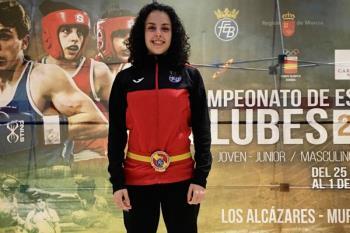 La boxeadora torrejonera se hizo con el Campeonato de España de Clubes