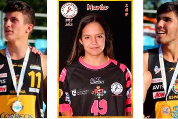 María Higuero, Sergio Pérez y Pedro Rodríguez en las selecciones nacionales
