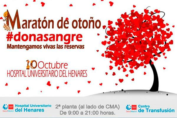 Comienza el Maratón de Otoño para donar sangre en el Hospital Universitario