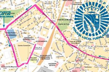 Las calles del centro Fuenlabrada y del barrio de Loranca se verán afectadas desde las 10 horas