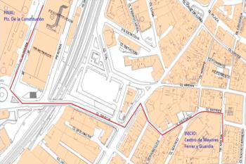 La policía local nos comunica el itinerario y los cortes de tráfico que tendrán lugar el día de mañana