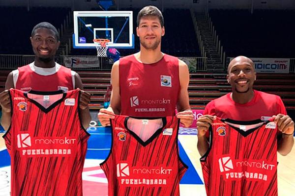 El equipo de baloncesto de Fuenlabrada realiza una triple incorporación, un 'necesario regalo' para su equipo y afición