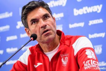 La situación del C.D. Leganés, colista, pone en peligro la figura del entrenador