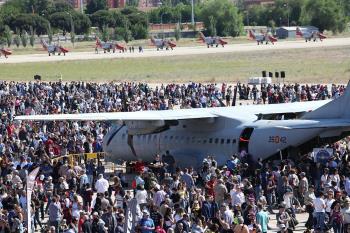 La alcaldesa de Getafe propone conceder la Medalla de Oro para la Base Aérea de Getafe