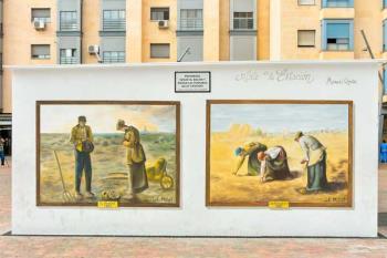 El Plan de Mejora Estética impulsa las obras de diferentes artistas de nuestra ciudad