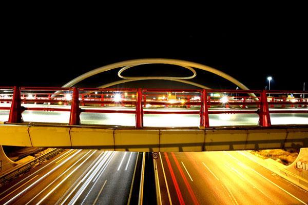 Mejora de la visibilidad en el Puente de Las Matas sobre la A-6