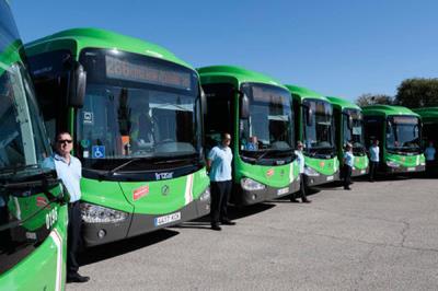 Lee toda la noticia ' Mejora en las líneas interurbanas de autobús en Móstoles'