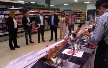 El alcalde ya ha visitado este Mercadona, ubicado en el Parque Comercial Camino Real
