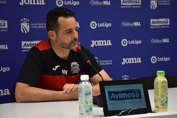 El entrenador del Fuenlabrada analiza la actualidad del equipo antes de enfrentarse al Lugo