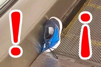 El suburbano comunica este nuevo suceso, que no ha pasado a mayores, para prevenirnos sobre el peligro de jugar en las escaleras mecánicas