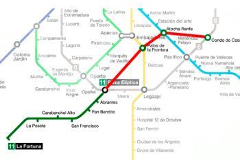La línea beneficiada con estos trenes será la L11, también se creará el intercambiador de Conde Casal